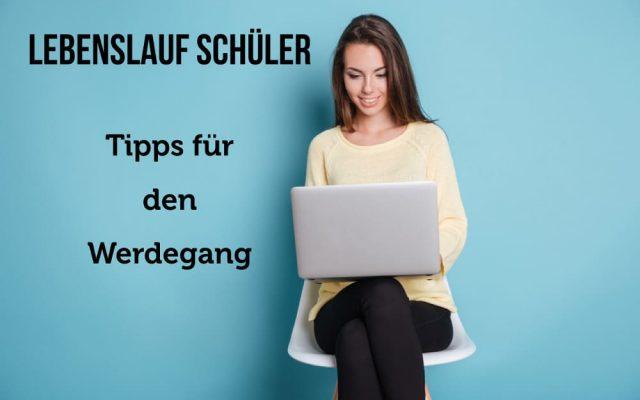 Lebenslauf Schueler zum Ausdrucken Bewerbung PDF