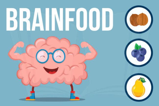 Brainfood: Turbo-Nahrung fürs Gehirn