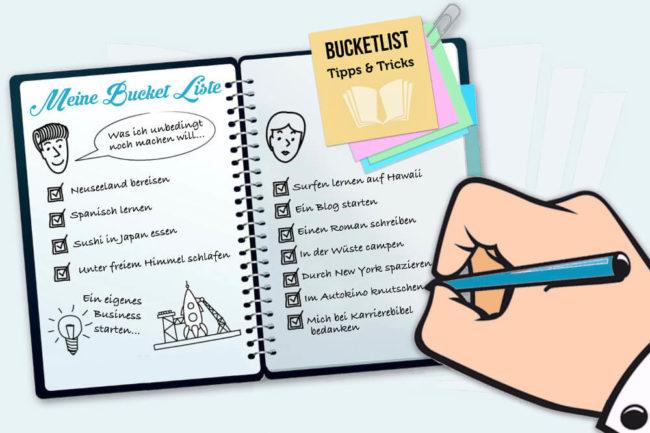 Bucket List: Beispiele, Inspirationen, Tipps