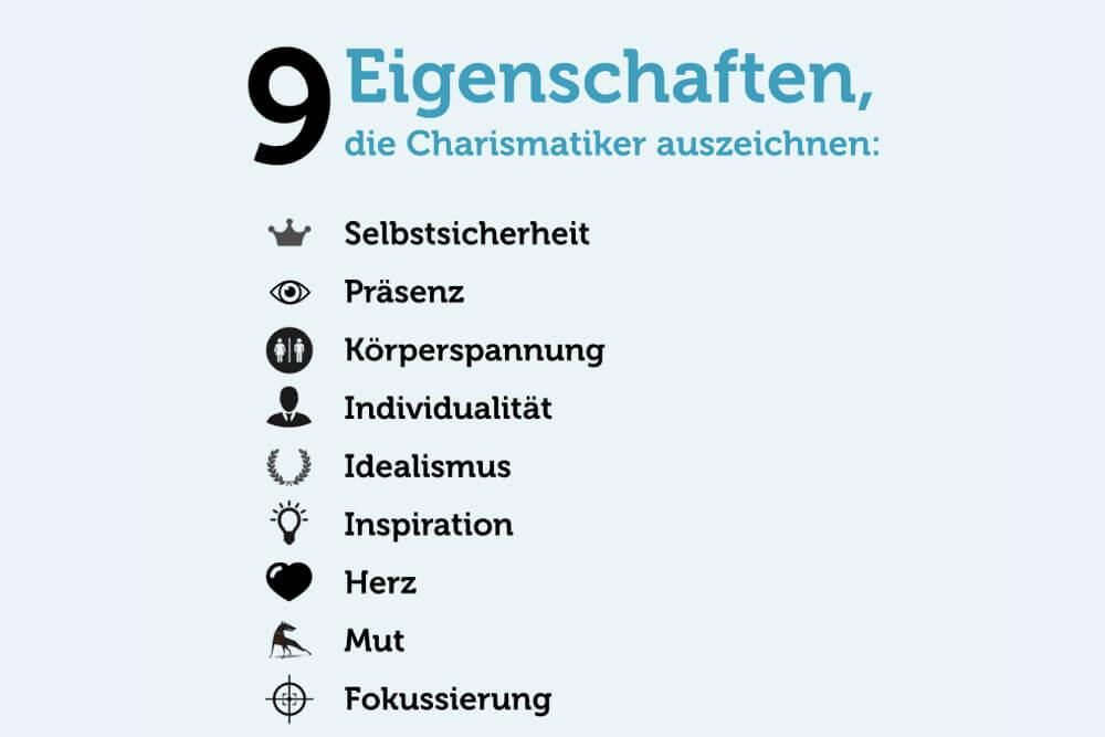 Charisma Eigenschaften Charismatisch Erlernbar Charismatiker