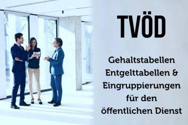 TVöD: Tarifvertrag und Entgelttabelle im öffentlichen Dienst