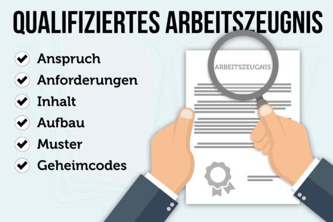 Qualifiziertes Arbeitszeugnis: Muster, Inhalt, Formulierungen