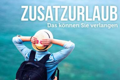 Zusatzurlaub: Rechte bei Schwerbehinderung