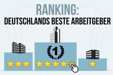 Deutschlands beste Arbeitgeber: Ranking der Unternehmen