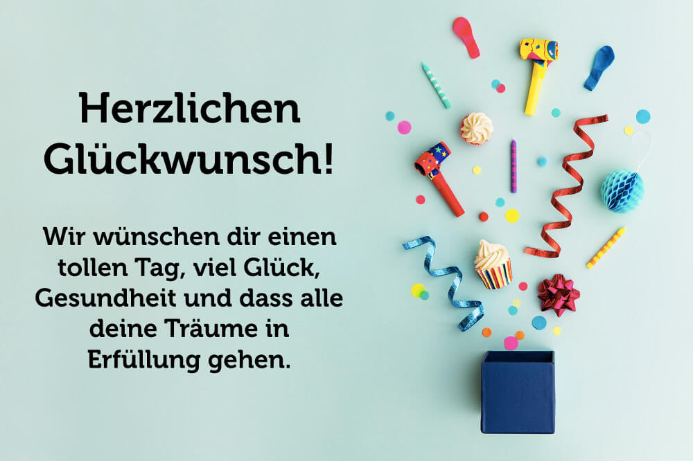 Was Zum Geburtstag Wünschen