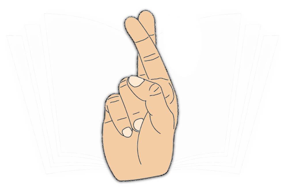 Handzeichen: Meineid