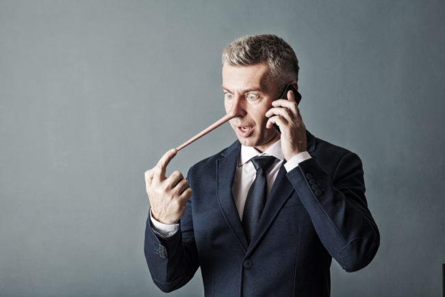 Pinocchio-Syndrom: Wie Sie mit Lügnern umgehen