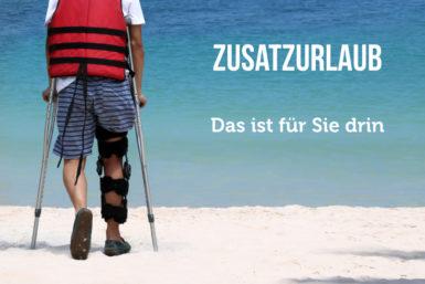 Zusatzurlaub: Teilhabe für Schwerbehinderte