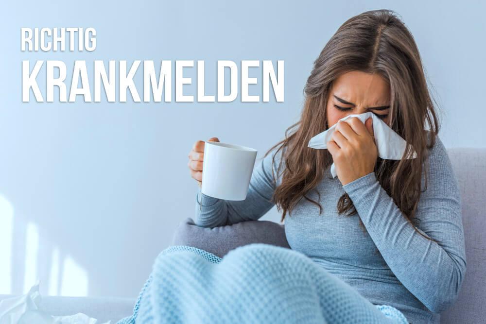 wie kann man eine erkältung vortäuschen