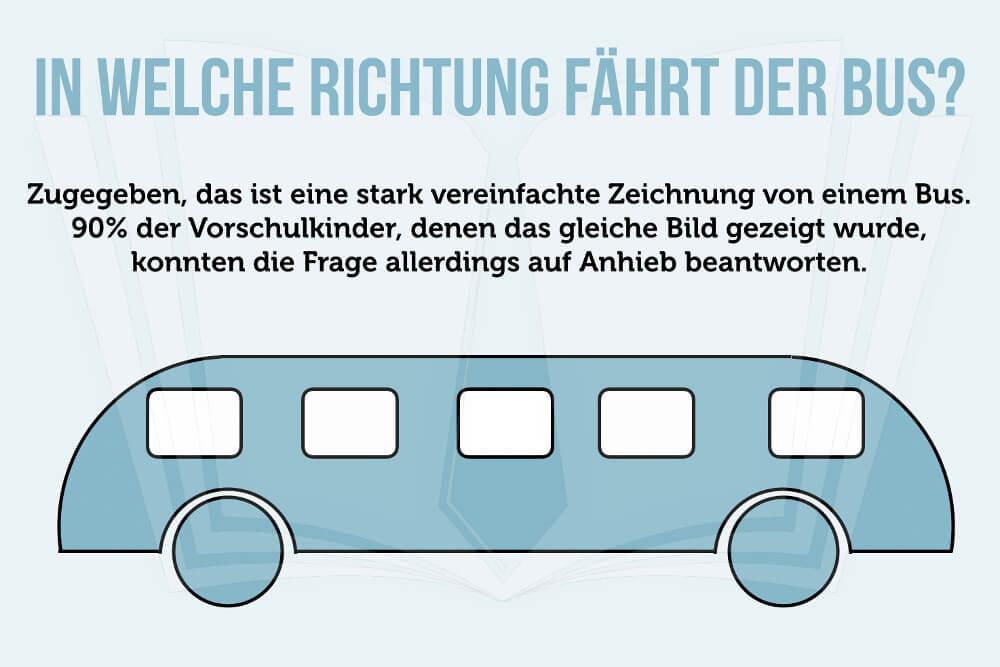 Denksport Busrichtung Frage