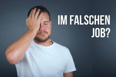 Falsch im Job: Ändern oder bleiben?
