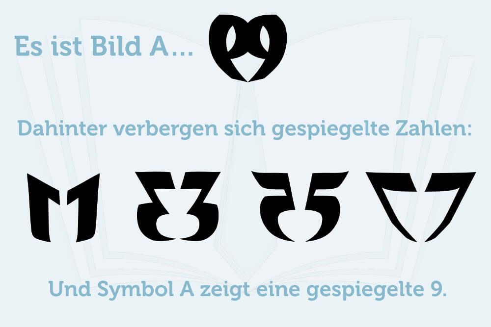 Knobelaufgabe Symbole Erkennen Loesung