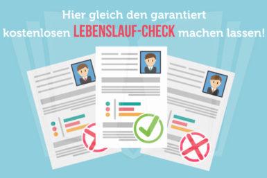 Besteht Ihr Lebenslauf den Personaler-Check?
