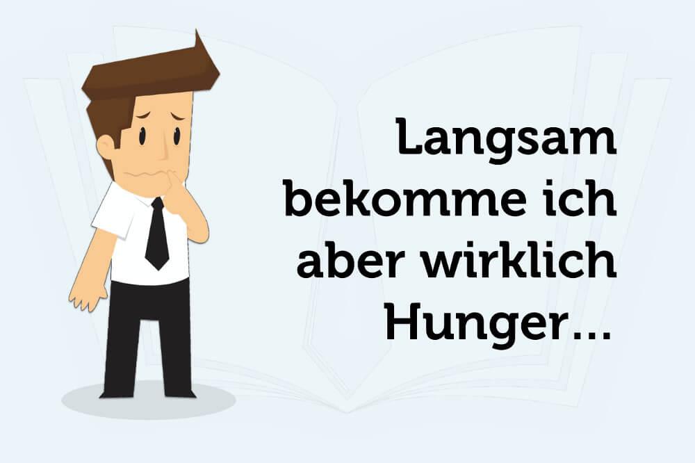 Meeting Tipps Saetze Hunger
