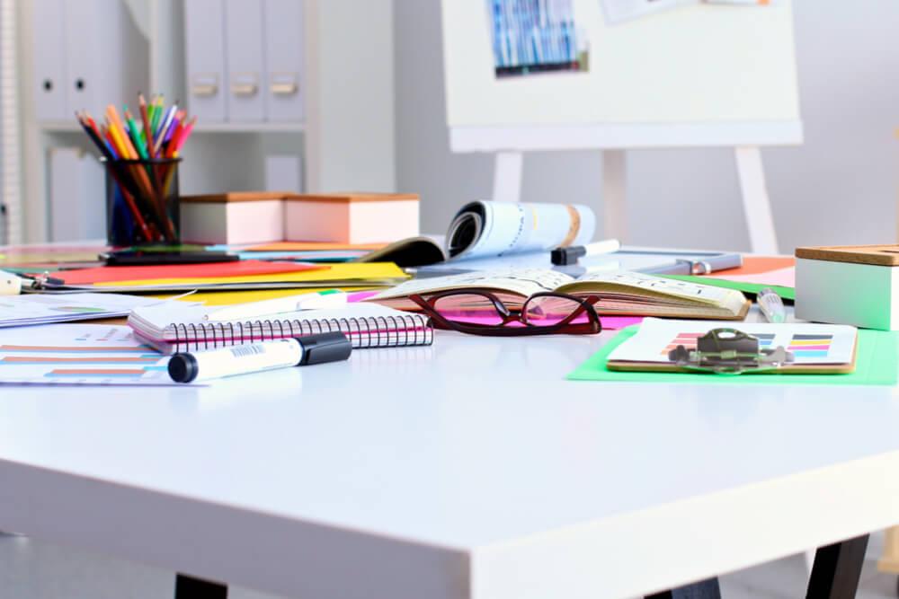 Schreibtisch Typen Chaos