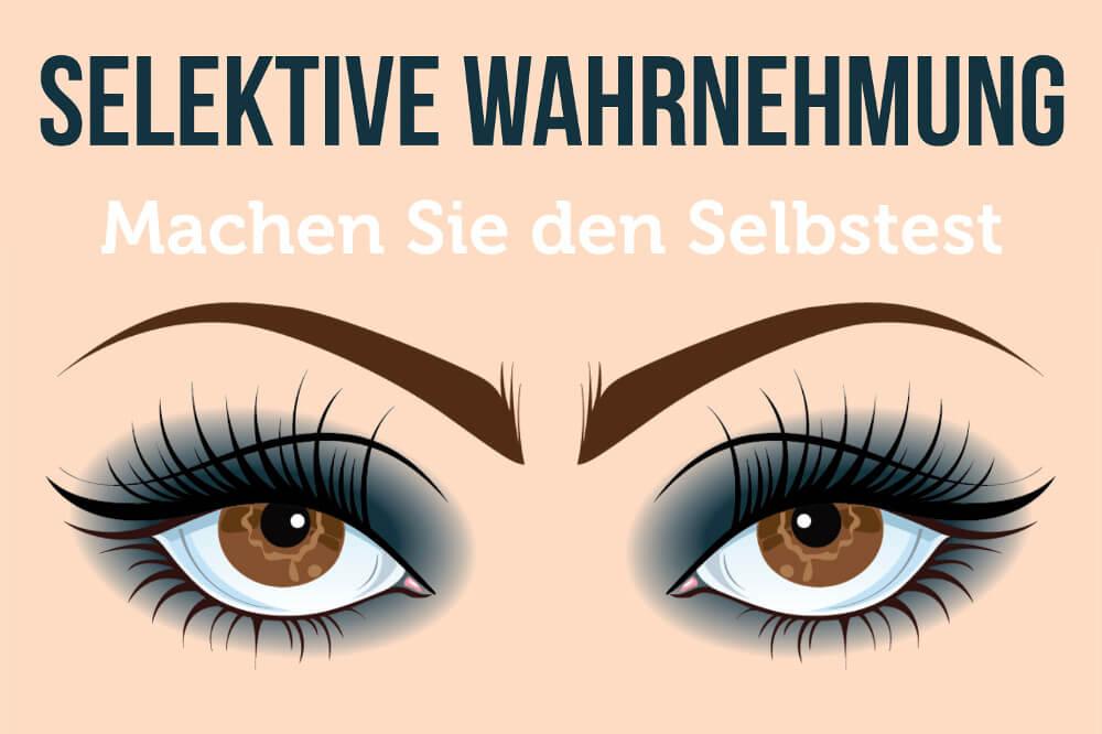 Selektive Wahrnehmung Test 01