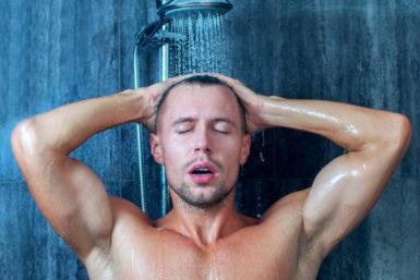 Geistesblitz unter der Dusche: Warum dort?