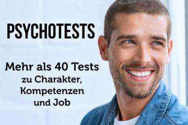 Psychotest Übersicht: 40 kostenlose Selbstanalysen