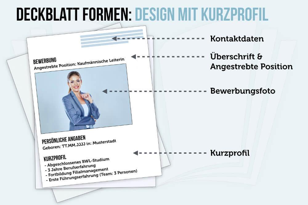 Deckblatt Beispiel Muster Design 02