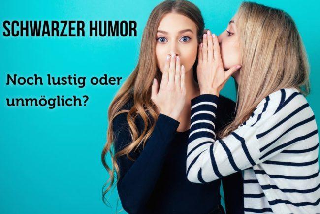 Schwarzer Humor: Definition und Beispiele