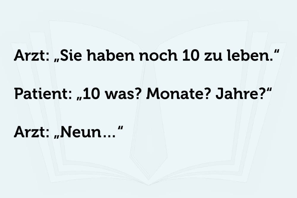 Schwarzer Humor Spruchbild7