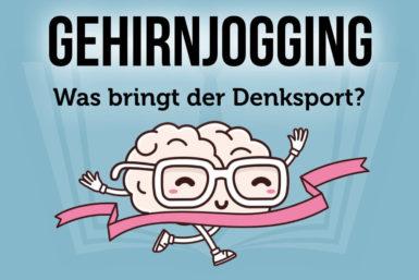 Gehirnjogging: Informationen und Übungen
