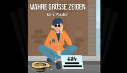 Groesse Zeigen Parabel Bettler Animation Video Cover