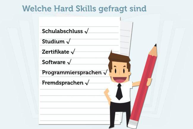 Hard Skills: Definition und Beispiele