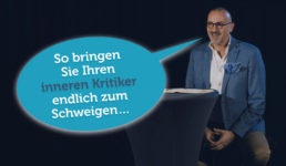 Innerer Kritiker Schweigen Selbstmotivation Minikeynote