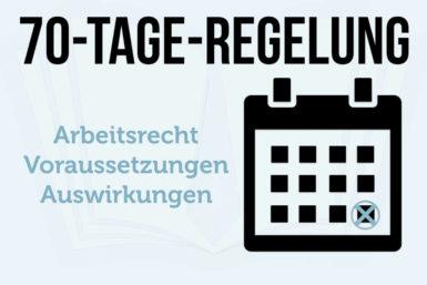 70-Tage-Regelung: Informationen zur kurzfristigen Beschäftigung