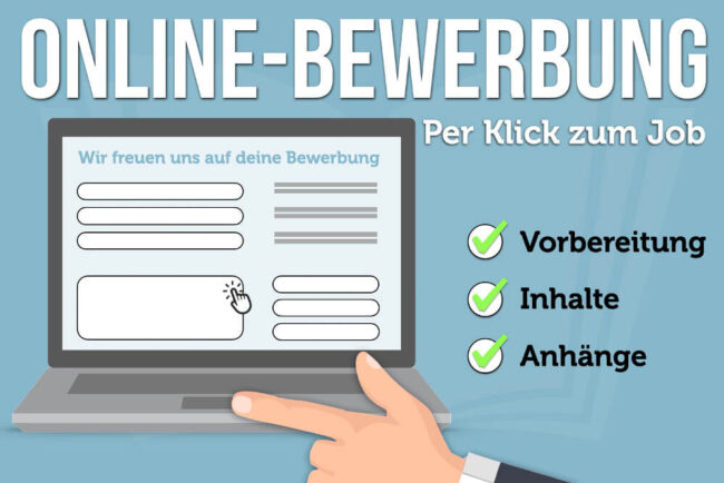 Online Bewerbung 13 Effektive Tipps Fur Formulare