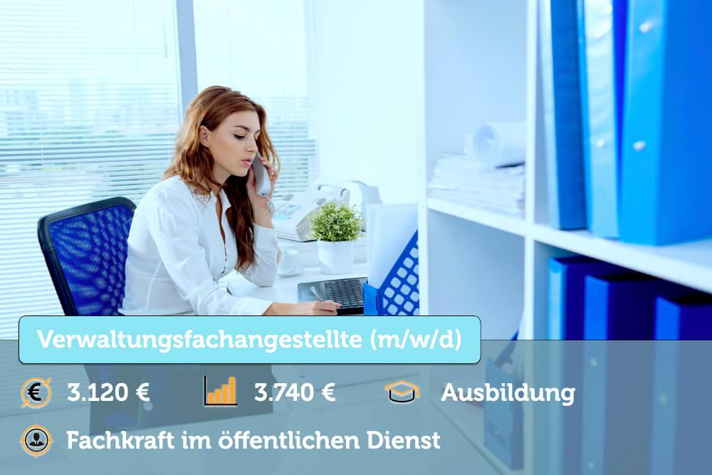 Verwaltungsfachangestellte Ausbildung Gehalt