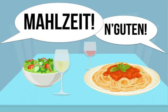 Mahlzeit: Veraltete Floskel oder sinnvoll?