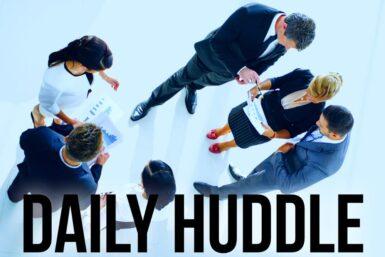 Daily Huddle: Der tägliche Schub für Ihr Unternehmen