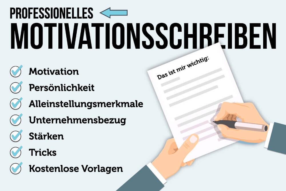 Beispiel Motivationsschreiben Bewerbung Co