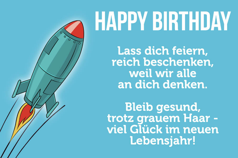 Geburtstag lustig gute mann zum alles Alles Gute