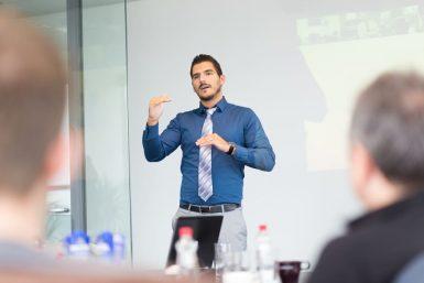 Freie Rede: Aufbau und Tipps für Keynotes