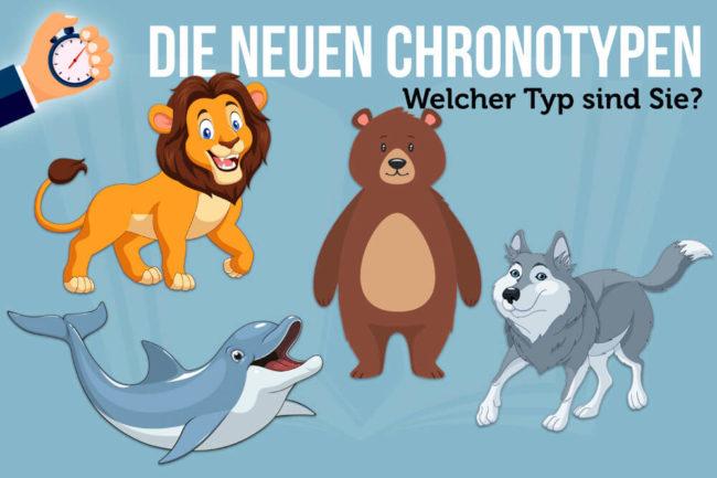 Delfin, Bär, Löwe, Wolf: Die neuen Chronotypen