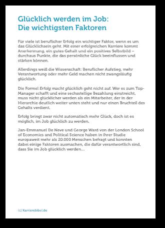 Gluecklich Werden Im Job Pdf Download